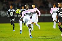 Dany NOUNKEU  - 04.03.2015 - Evian Thonon / Lorient - Match en retard de la 26eme journee de Ligue 1 <br />Photo : Jean Paul Thomas / Icon Sport