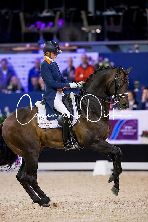 Scholtens Emmelie, NED, Apache<br /> FEI World Cup Dressage - Grand Prix<br /> Jumping Amsterdam 2017<br /> &copy; Hippo Foto - Leanjo de Koster<br /> 27/01/17