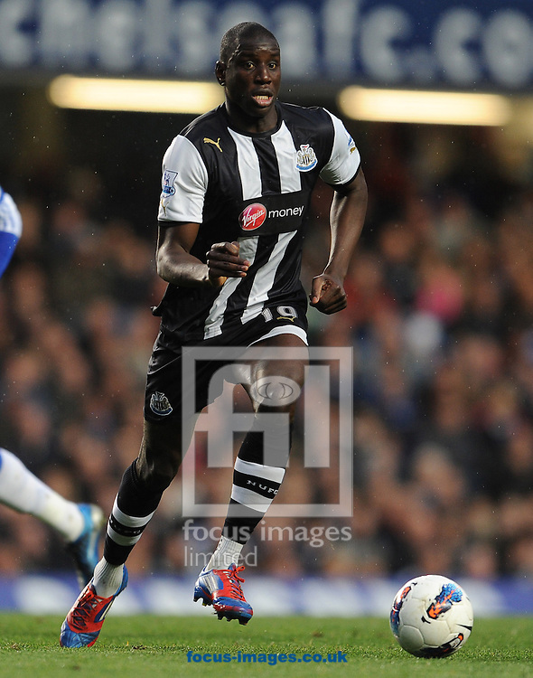 Picture by Andrew Timms/Focus Images Ltd. 07917 236526.02/05/12.Demba Ba of Newcastle United during the Barclays Premier League match against Chelsea at Stamford Bridge stadium, London.