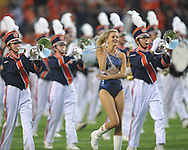 The Auburn band at Jordan-Hare Stadium in Auburn, Ala. on Saturday, October 29, 2011. .