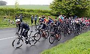Riders take on Baggaby Hill during Stage 1 of the Tour de Yorkshire from Doncaster to Selby, Doncaster, United Kingdom on 2 May 2019.