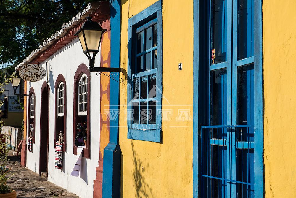 Casario estilo açoriano, Santo Antonio de Lisboa, Florianópolis, Santa Catarina, foto de Ze Paiva - Vista Imagens