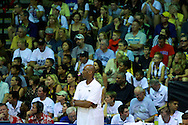 November 24 2015: Wake Forest head coach Danny Manning during the Maui Invitational at  Lahaina Civic Center on Maui, HI. (Photo by Aric Becker)