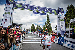 Finish at Rogla during Stage 3 of 24th Tour of Slovenia 2017 / Tour de Slovenie from Celje to Rogla (167,7 km) cycling race on June 16, 2017 in Slovenia. Photo by Vid Ponikvar / Sportida