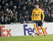FOOTBALL: José María Giménez (Atlético Madrid) during the UEFA Europa League, Round of 32, 1st leg match between FC København and Atlético Madrid at Parken Stadium, Copenhagen, Denmark on February 15, 2018. Photo: Claus Birch.