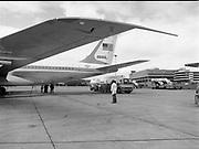 Refueling U.S. Air Force President Plane for Irish Shell, Dublin Airport,<br /> 3rd June 1984