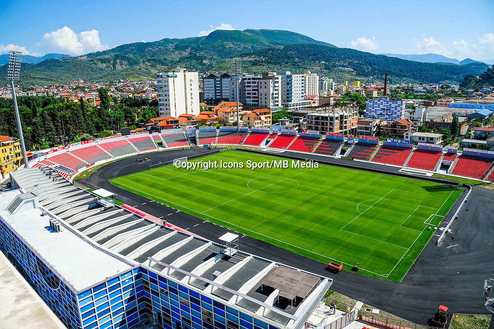 Illustration Ruzhdi Bizhuta Stadium / Elbasan Arena - 12.06.2015 - France / Albanie - Match amical<br /> Photo : Dave Winter / Icon Sport