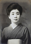 portrait of female person Japan late 1930s