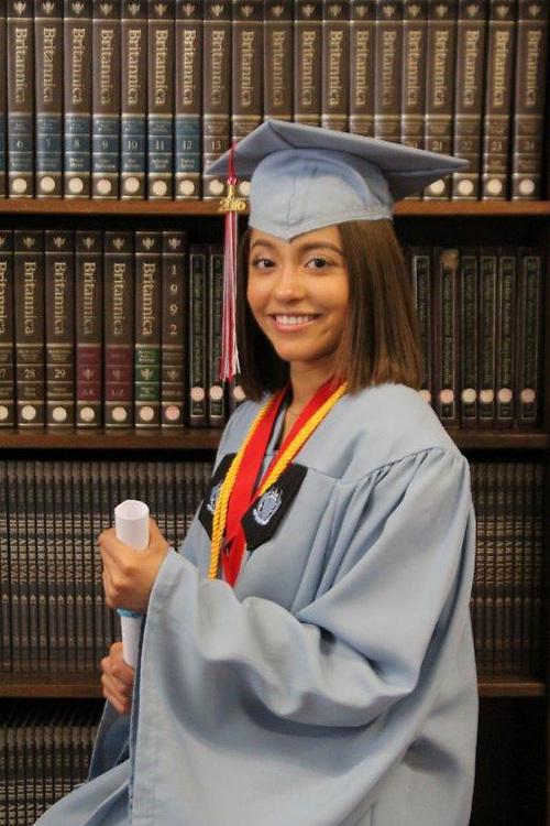 Madison High School 2016 valedictorian Lesbia Espinal Rodriguez.