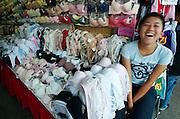 At the Chatuchak Weekend-Market. Mega titties.