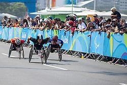 KIM Gyu Dae, KOR, T52/53/54 Marathon at Rio 2016 Paralympic Games, Brazil