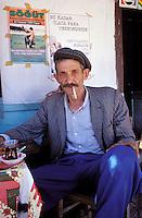 Turquie - Scene dans un café d'Anatoli
