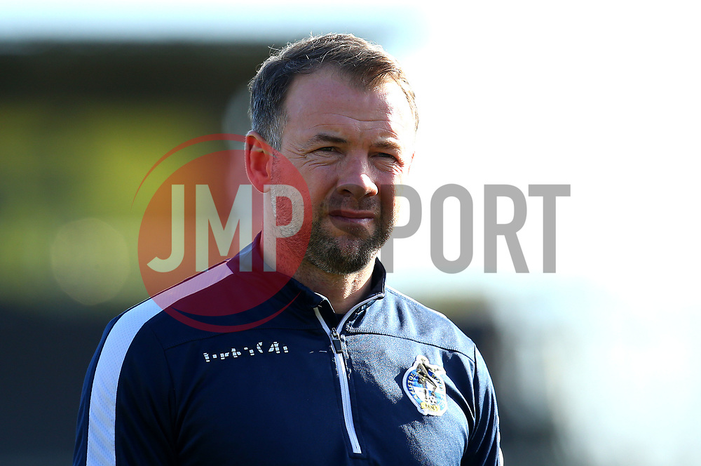 Bristol Rovers assistant manager Marcus Stewart - Mandatory by-line: Robbie Stephenson/JMP - 17/02/2018 - FOOTBALL - Cherry Red Records Stadium - Kingston upon Thames, England - AFC Wimbledon v Bristol Rovers - Sky Bet League One
