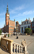 Poland Gdansk Poland Gdansk Long Market (Dlugi Targ)<br /> Town Hall