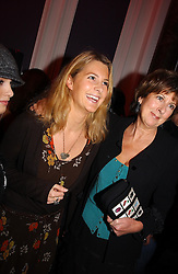 Left to right, LADY KINVARA BALFOUR and her mother the COUNTESS OF BALFOUR at a party hosted by jeweller Theo Fennell and Dominique Heriard Dubreuil of Remy Martin fine Champagne Cognac entitles 'Hot Ice' held at 35 Belgrave Square, London, W1 on 26th October 2004.<br /><br />NON EXCLUSIVE - WORLD RIGHTS