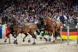 Exell Boyd, AUS, Oria, Bajnok, Clinton Star, Demi<br /> Stuttgart - German Masters 2019<br /> © Hippo Foto - Stefan Lafrentz<br /> 15/11/2019