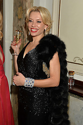 ELENA LIKHACH at The Backstage Gala hosted by Diana Vishneva , Principal Dancer of the Mariinsky and American Ballet Theatre, and Natalia Vodianova in aid of The Naked Heart Foundation held at The London Coliseum, St.Martin's Lane, London on 17th April 2015.
