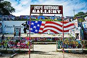 Hope Outdoor Gallery, Austin, Texas, November 12, 2015.