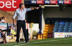 Southend United manager Kevin Bond passing instructions to his players - Mandatory by-line: Arron Gent/JMP - 24/07/2019 - FOOTBALL - Roots Hall - Southend-on-Sea, England - Southend United v Millwall - pre season friendly