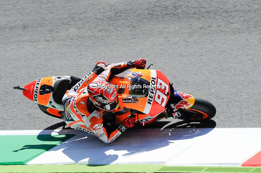 29.05.2015.  Mugello, Italy. MotoGP. Gran Premio d'Italia TIM. Marc Marquez (Repsol Honda)during the free practice sessions.