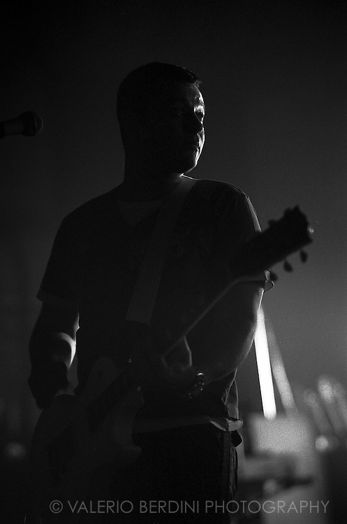 James Dean Bradfield of Manic Street Preachers live at the Cambridge Corn Exchange on 12 April 2005