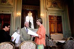A governadora do Rio Grande do Sul, Yeda Crusius durante seu primeiro dia de trabalho no Palácio Piratini. FOTO: Jefferson Bernardes/Preview.com