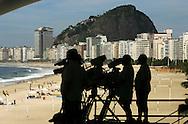 Football-FIFA Beach Soccer World Cup 2006 - Group D- Nigeria - Bahrain, Beachsoccer World Cup 2006.  - Rio de Janeiro - Brazil 06/11/2006. Mandatory credit: FIFA/ Manuel Queimadelos