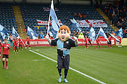Bodger, Wycombe mascot during the Sky Bet League 2 match between Wycombe Wanderers and Barnet at Adams Park, High Wycombe, England on 16 April 2016. Photo by Dennis Goodwin.