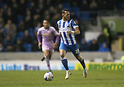 Brighton defender, full back, Liam Rosenior (23) during the Sky Bet Championship match between Brighton and Hove Albion and Reading at the American Express Community Stadium, Brighton and Hove, England on 15 March 2016.