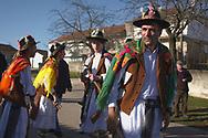 Festa dos Moços, or Festa de São João Evangelista (Saint John Evangelist), a religious festivity with roots in pagan Winter Solstice celebrations that takes place in Constantim, at Miranda do Douro region, Portugal.