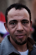 Faces of the revolution in Tahir square on February 18, 2011 where Egypt celebrated the departure of Muburak.