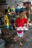 Old Rangoon: Teashops and food stalls