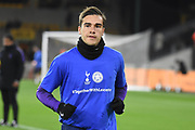Harry Winks midfielder of Tottenham Hotspur (8) wearing Together With Leicester t-shirt during the Premier League match between Wolverhampton Wanderers and Tottenham Hotspur at Molineux, Wolverhampton, England on 3 November 2018.