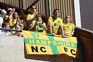 Picture by Paul Chesterton/Focus Images Ltd.  07904 640267.11/9/11.Norwich fans before the Barclays Premier League match at Carrow Road stadium, Norwich.