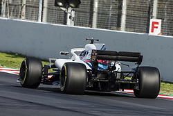 March 9, 2018 - Barcelona, Catalonia, Spain - 18 Lance Stroll from Canada with Williams F1 Mercedes FW41 during day four of F1 Winter Testing at Circuit de Catalunya on March 9, 2018 in Montmelo, Spain. (Credit Image: © Xavier Bonilla/NurPhoto via ZUMA Press)
