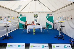 Zavarovalnica Sava during Day 5 at ATP Challenger Zavarovalnica Sava Slovenia Open 2018, on August 7, 2018 in Sports centre, Portoroz/Portorose, Slovenia. Photo by Vid Ponikvar / Sportida