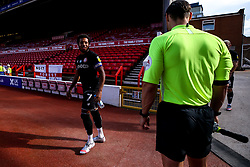 Korey Smith of Bristol City leads the side out at Nottingham Forest - Mandatory by-line: Robbie Stephenson/JMP - 01/07/2020 - FOOTBALL - The City Ground - Nottingham, England - Nottingham Forest v Bristol City - Sky Bet Championship