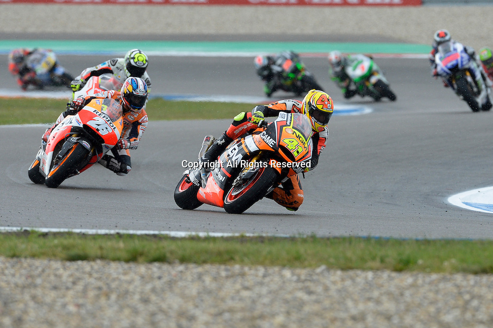 28.06.2014.  Assen, Netherlands. MotoGP. Iveco Daily TT Assen Race.Aleix Espargaro (NGM Foward) during the TT Assen race.