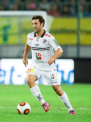 Joachim Standfest of WAC during football match between WAC Wolfsberg (AUT) and  Borussia Dortmund (GER) in First leg of Third qualifying round of UEFA Europa League 2015/16, on July 30, 2015 in Wörthersee Stadion, Klagenfurt, Austria. Photo by Vid Ponikvar / Sportida