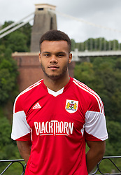 Aaron Amadi-Holloway of Bristol City - Photo mandatory by-line: Kieran McManus/JMP - Tel: Mobile: 07966 386802 31/07/2013 - SPORT - FOOTBALL - Avon Gorge Hotel - Clifton Suspension bridge - Bristol -  Team Photo