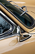 Image of a tan sports car detail in Seattle, Washington, Pacific Northwest, Porsche 1967 911S, property released