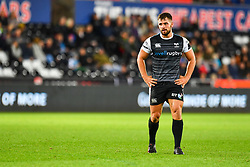 Luke Morgan of Ospreys<br /> <br /> Photographer Craig Thomas/Replay Images<br /> <br /> Guinness PRO14 Round 4 - Ospreys v Benetton Treviso - Saturday 22nd September 2018 - Liberty Stadium - Swansea<br /> <br /> World Copyright © Replay Images . All rights reserved. info@replayimages.co.uk - http://replayimages.co.uk