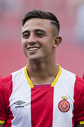 August 15, 2017 - Girona, Spain - Portrait of Pablo Maffeo from Spain of Girona during the Costa Brava Trophy match between Girona FC and Manchester City at Estadi de Montilivi on August 15, 2017 in Girona, Spain. (Credit Image: © Xavier Bonilla/NurPhoto via ZUMA Press)