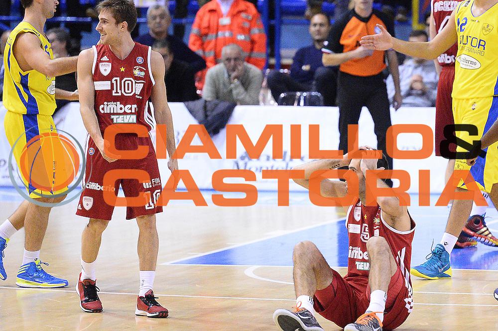 DESCRIZIONE : Porto San Giorgio Lega serie A 2013/14  Sutor Montegranaro Varese<br /> GIOCATORE : Dusan Sakota<br /> CATEGORIA : delusione mani<br /> SQUADRA : Pallacanestro Varese<br /> EVENTO : Campionato Lega Serie A 2013-2014<br /> GARA : Sutor Montegranaro Pallacanestro Varese<br /> DATA : 23/11/2013<br /> SPORT : Pallacanestro<br /> AUTORE : Agenzia Ciamillo-Castoria/M.Greco<br /> Galleria : Lega Seria A 2013-2014<br /> Fotonotizia : Porto San Giorgio  Lega serie A 2013/14 Sutor Montegranaro Varese<br /> Predefinita :
