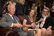 TIM CORFIELD; FLORA MCEVEDY; CAROLINE BROWN, The LAPADA Art & Antiques Fair - private view, Berkeley Sq. London. 12  September 2016