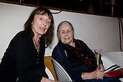 BERYL BAINBRIDGE; DAME DORIS LESSING, BBC Four Samuel Johnson Prize party. Souyh Bank Centre. London. 15 July 2008.  *** Local Caption *** -DO NOT ARCHIVE-© Copyright Photograph by Dafydd Jones. 248 Clapham Rd. London SW9 0PZ. Tel 0207 820 0771. www.dafjones.com.