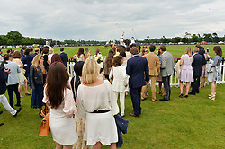 Atmosphere at the Cartier Queen's Cup Final 2016 held at Guards Polo Club, Smiths Lawn, Windsor Great Park, Egham, Surrey on 11th June 2016.
