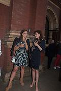 LADY NATASHA RUFUS-ISAACS; LAURA CATHCART, V & A Summer party. South Kensington. London. 22 June 2016