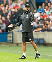 EDINBURGH, SCOTLAND - JULY 28: <br /> A frustrated Jürgen Klopp during the Pre-Season Friendly match between Liverpool FC and SSC Napoli at Murrayfield on July 28, 2019 in Edinburgh, Scotland. (Photo by MB Media)