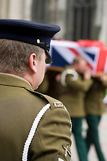 Funeral Trooper James Anthony Leverett from Rotherham